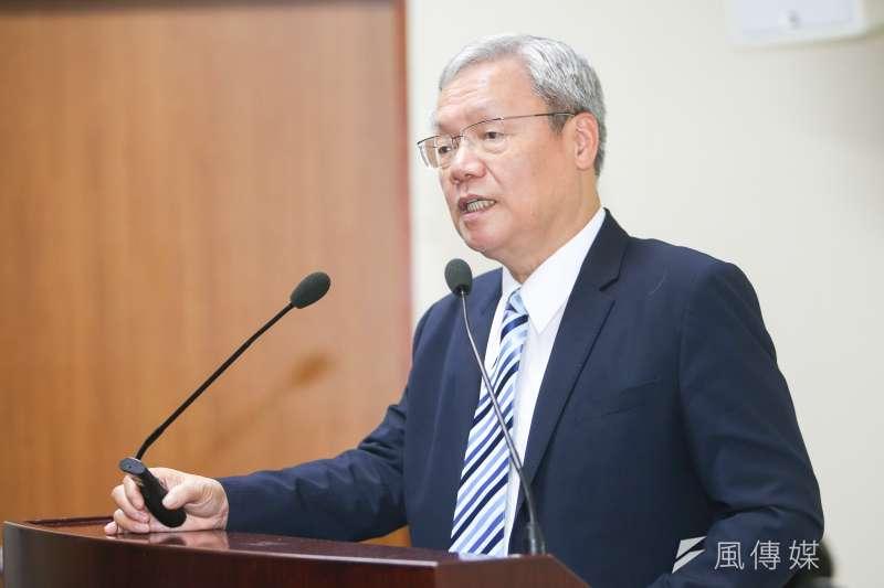 政治大學法律系教授、前司法院副院長蘇永欽談直接民主的困境。(陳明仁攝)