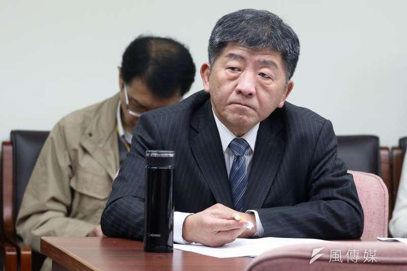 針對日本核災地區食品輸台,衛福部長陳時中表示沒有時間表,但未來可能會進行調整。(資料照,蘇仲泓攝)
