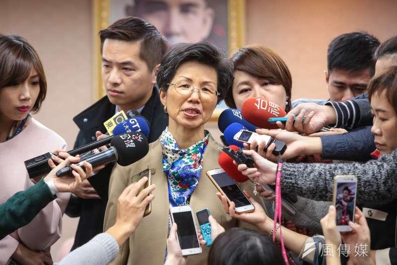 陸委會主委張小月23日發布新聞稿表示,將放寬小三通中國大陸團客最低限制人數,與中配親數來台探親之規定。(資料照,顏麟宇攝)