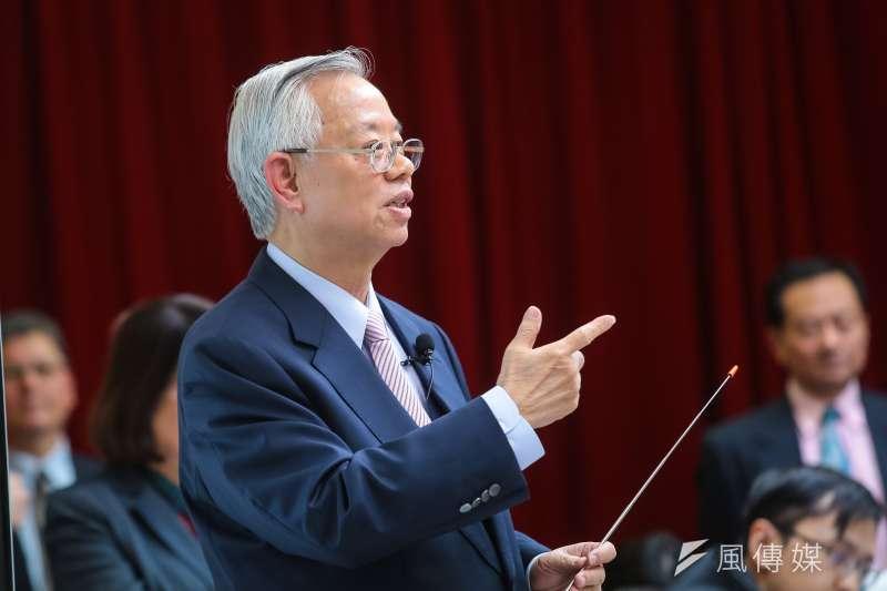 中央銀行總裁彭淮南在交棒前夕,暢談貨幣政策、房市調控等。(資料照,顏麟宇攝)