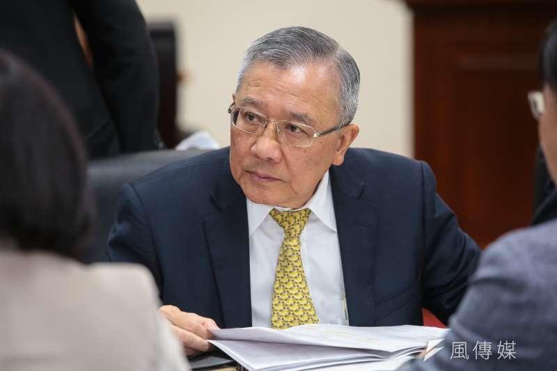 中油董事長戴謙21日出席內政委員會預算審查。(顏麟宇攝)