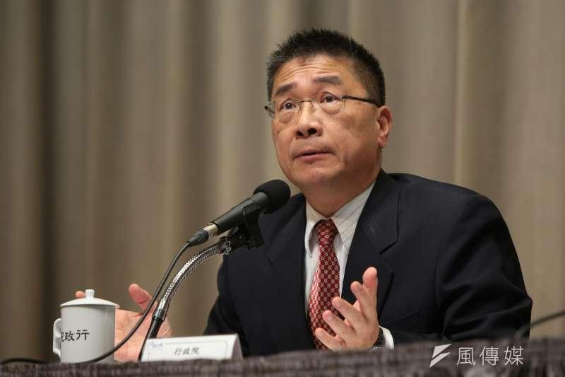 行政院發言人徐國勇表示,金華官邸修繕並不是為個人,而是為行政院長官邸建立制度。(資料照,顏麟宇攝)
