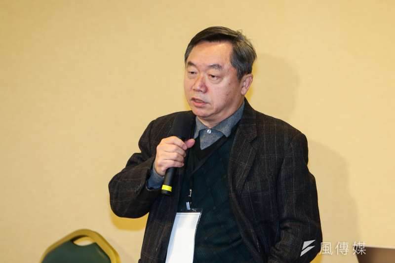 國民黨行管會主委邱大展。(資料照片,陳明仁攝)