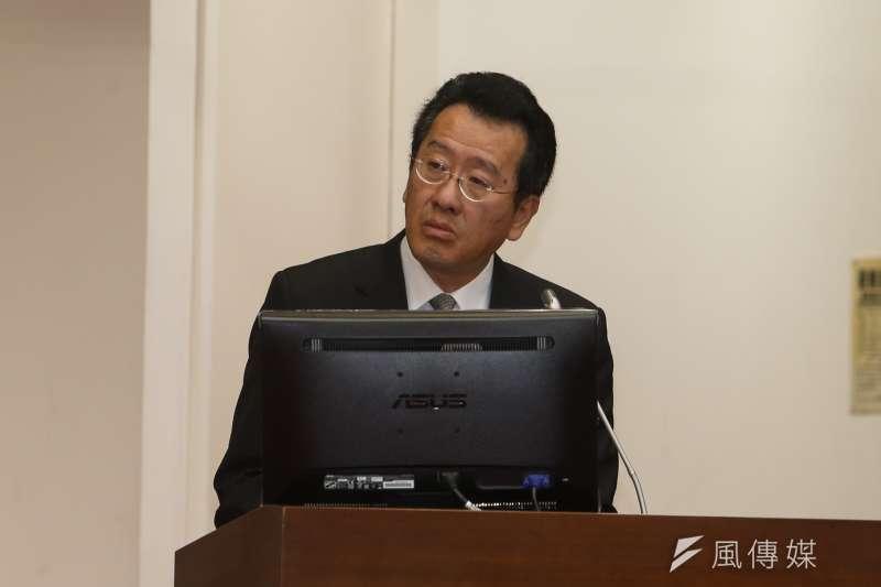 金管會主委顧立雄列席財政委員會,表示近年來獨立董事有波離職潮。(陳明仁攝)