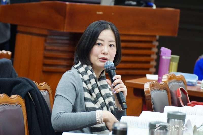 20171225-立委吳思瑤出席預算審查。(盧逸峰攝)