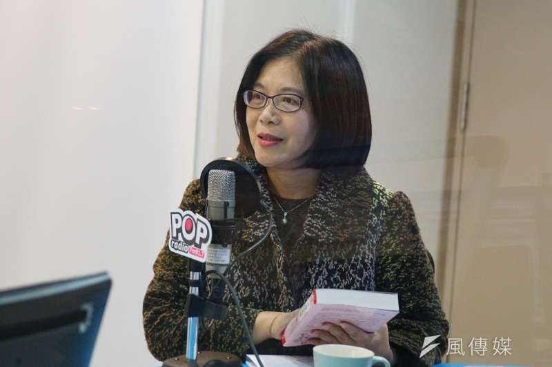 立委管碧玲回應劉世芳宣布退選。(資料照片,盧逸峰攝)