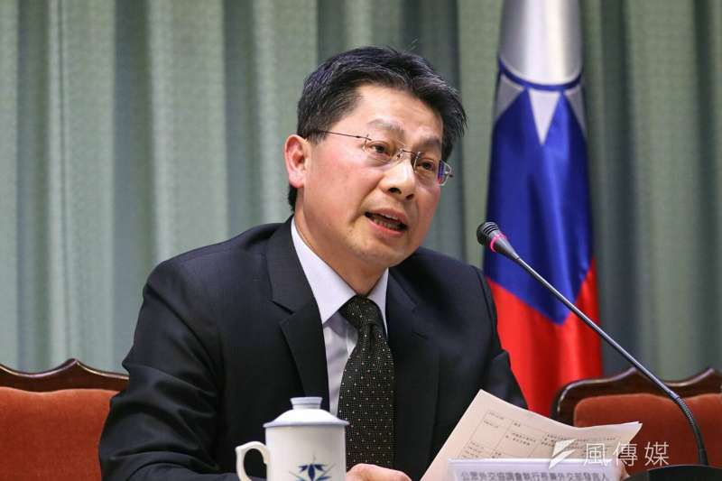 對於網路謠傳,宏都拉斯將與我國斷交,外交部發言人李憲章出面駁斥。(資料照,蘇仲泓攝)