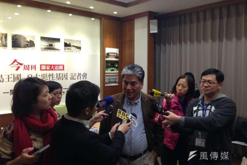 李鴻源指出,台灣許多閒置空間多是因為主事者不夠了解土地,進而無法有效利用。(林銘翰攝)