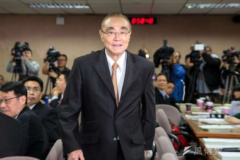 國防部長馮世寬。(資料照片,顏麟宇攝)