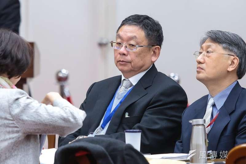 中央印製廠總經理陳永輝27日護照出包案受懲處。(資料照片,顏麟宇攝)