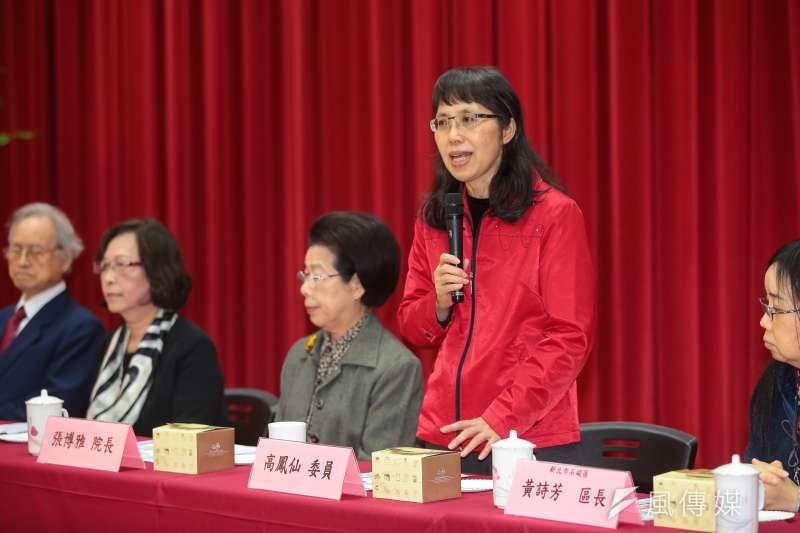 監察委員高鳳仙申請調查「台電匪諜案」。(資料照,顏麟宇攝)