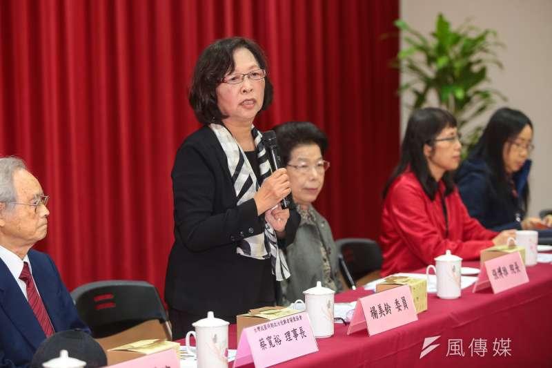 20171228-監察委員楊美鈴28日出席「鹿窟事件村民見面會」。(顏麟宇攝)