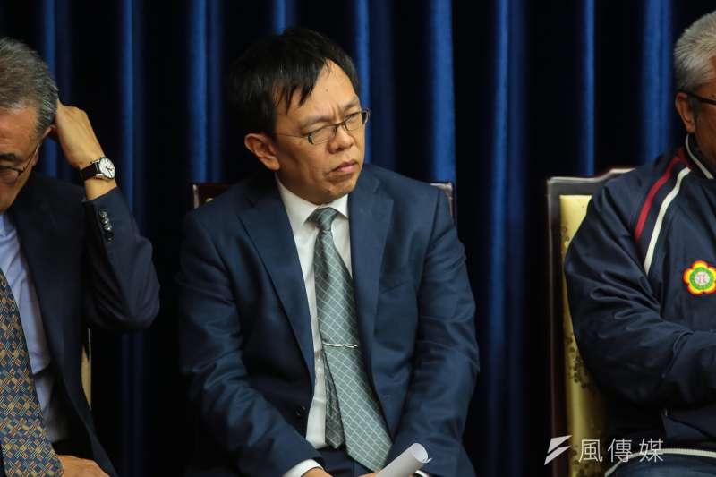 總統府副秘書長姚人多。(資料照片,顏麟宇攝)