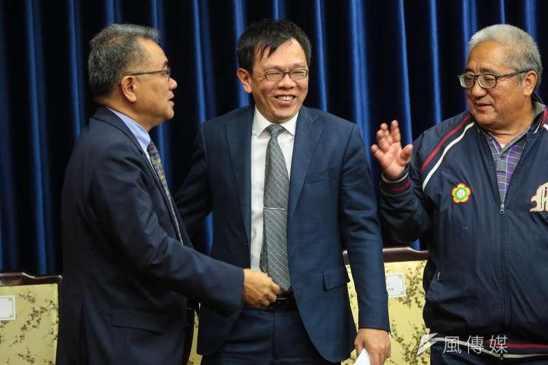 總統府副秘書長姚人多將轉任海基會董事長。(資料照片,顏麟宇攝)