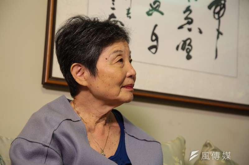 在林茂生死後2年才出生的孫女林玲文,轉眼間也近70歲了,但少女時期經歷的種種恐懼,她仍記得(顏麟宇攝)