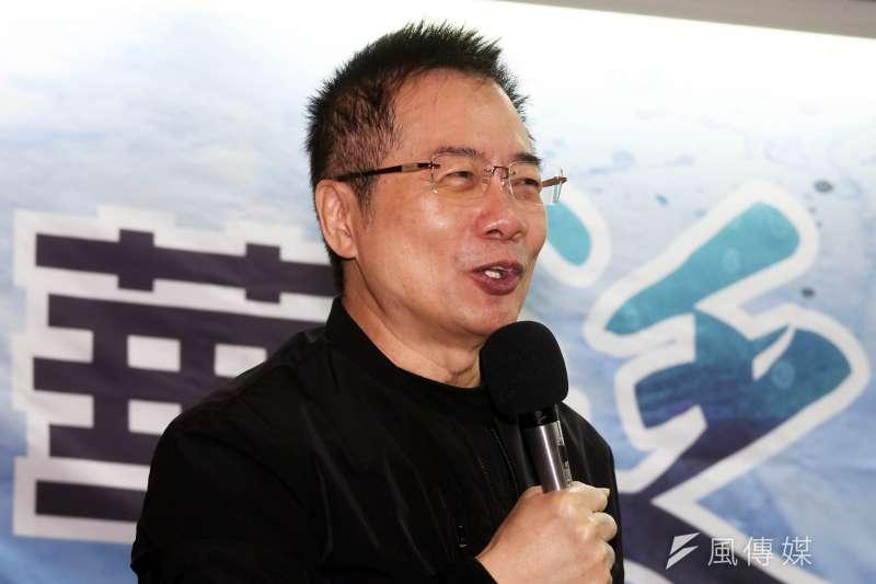 前國民黨立委蔡正元(見圖)評香港反送中,認為台灣媒體及政治人物為政治立場喪失道德羅盤。(資料照,蘇仲泓攝)