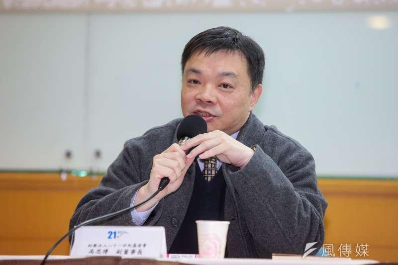 高思博指出,自己親身體驗在台南市區騎車,真的像是在騎馬。(資料照,顏麟宇攝)