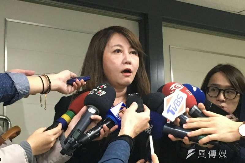 對於被台北市長柯文哲痛批「棄職潛逃」,前觀傳局長簡余晏在臉書說,她感到「難以置信!」(資料照,王彥喬攝)