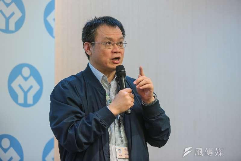 20180110-勞動部職業安全衛生署長鄒子廉10日出席勞動部記者會。(顏麟宇攝)