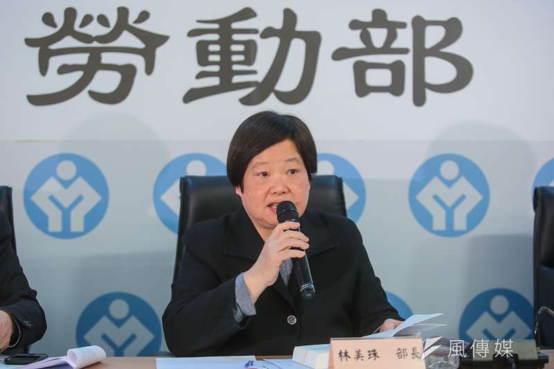 曾有傳言林美珠有意在修法過後請辭,而今日林美珠否認傳聞。(顏麟宇攝)