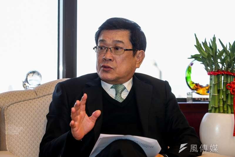 台電董事長楊偉甫強調,核二2號機操作安全沒有問題,經原能會審查後,最快4月就能重新啟動。(陳明仁攝)