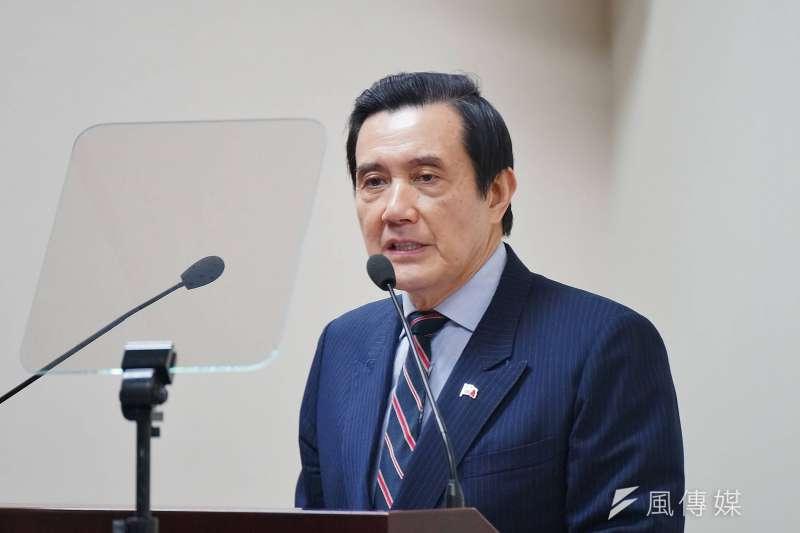 前總統馬英九評論準監委陳師孟。(資料照片,盧逸峰攝)