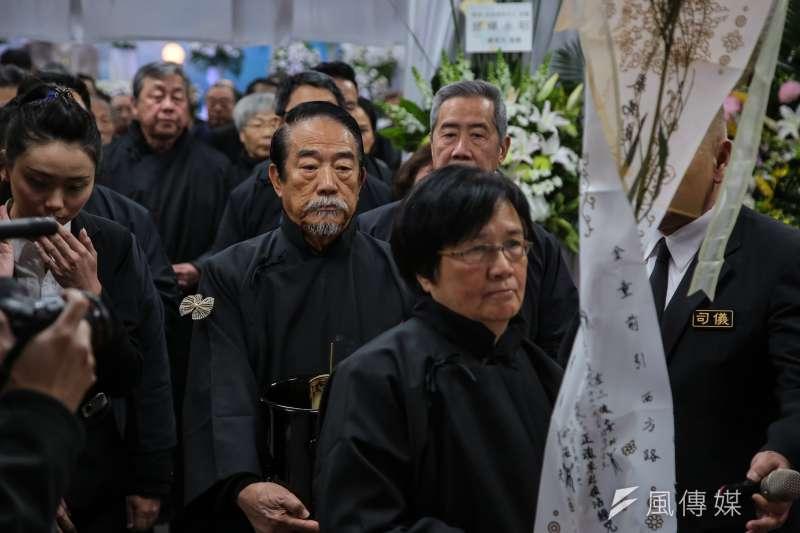親民黨主席宋楚瑜母親宋胡窕容女士11日舉行追思告別式。(顏麟宇攝)