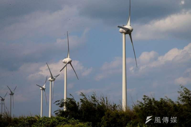 丹麥駐台代表倪安升強調,長期使用風電會讓台灣受惠。(陳明仁攝)