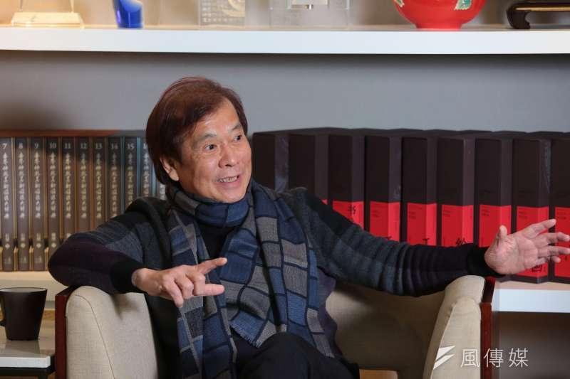 20180112-華視總經理郭建宏專訪。(顏麟宇攝)