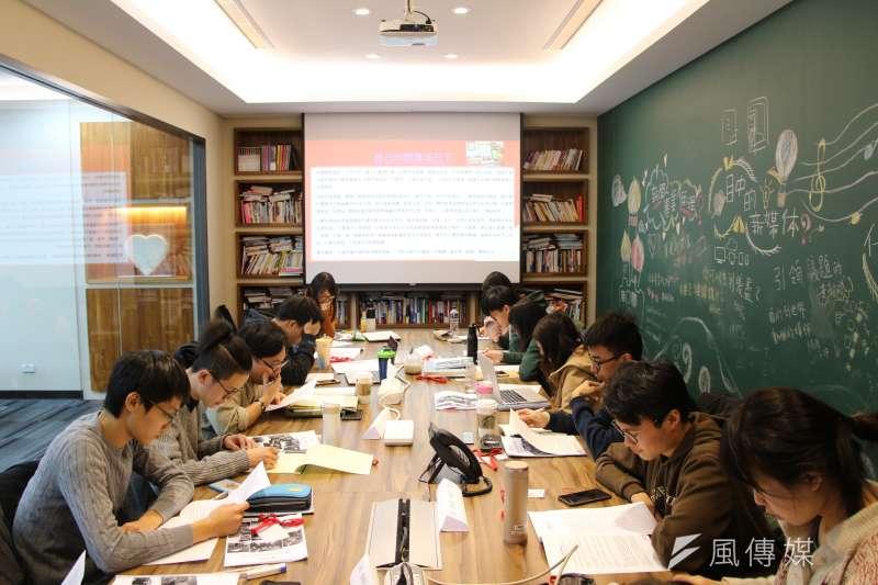 《風傳媒》國際新聞中心首度舉辦「編譯記者的冒險工廠」研習營(國際中心攝)