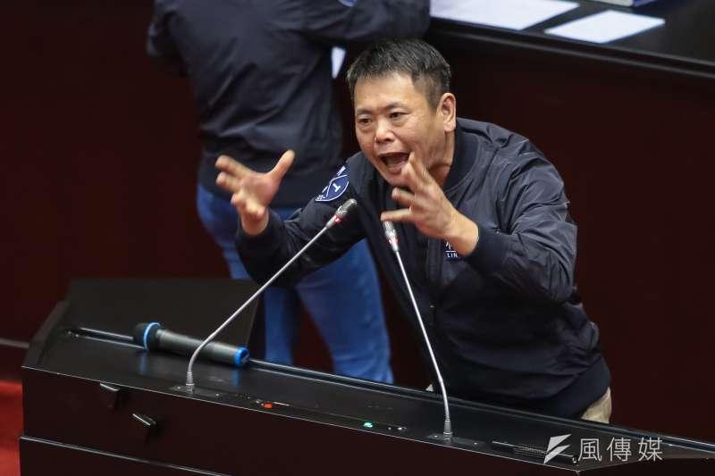 國民黨新竹縣長提名爭議不斷,立委林為洲質疑,遊戲規則走到一半才改,爭議很大,是在傷害國民黨。(資料照,顏麟宇攝)