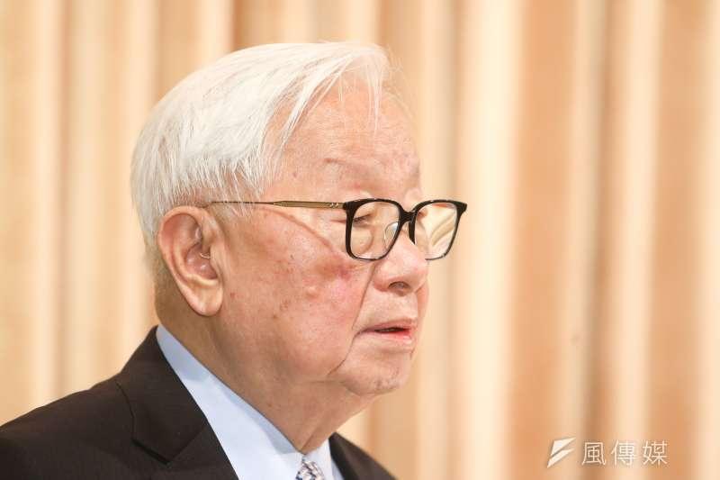 台積電董事長張忠謀接受《金融時報》訪問表示,中美貿易戰若持續延燒,將是一個他過去從未面臨的新挑戰。(資料照,陳明仁攝)