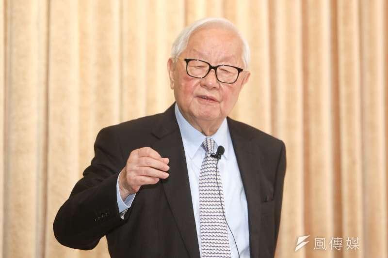 台積電董事長張忠謀今天要退休了。(陳明仁攝)