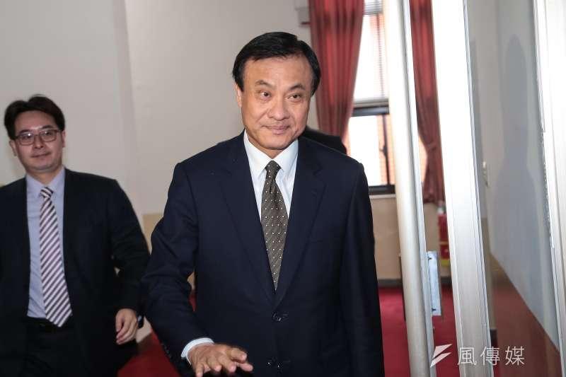 立法院長蘇嘉全主持「中央政府總預算」立院黨團協商。(資料照片,顏麟宇攝)