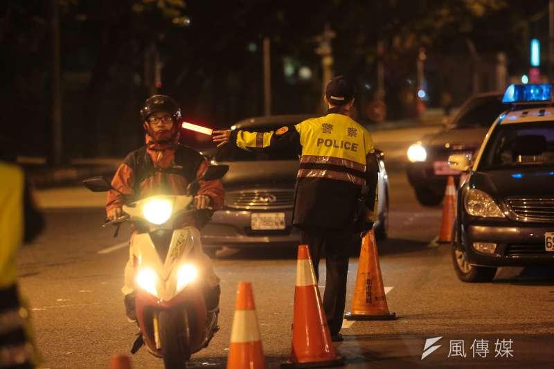 警政署強調,「國內每年實際因酒駕衍生的傷亡人數,確實是A1的好幾倍。」 (顏麟宇攝)
