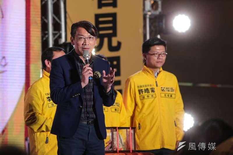 20180120-時代力量立委徐永明20日出席時代力量黨慶暨募款餐會。(顏麟宇攝)