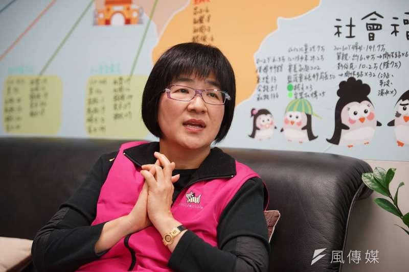 20180102-風數據專題,新北市社會局長張錦麗專訪。(盧逸峰攝)