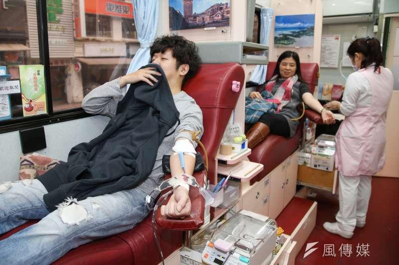 台北捐血中心表示,目前所有血型均低於7天的安全庫存量,希望民眾踴躍捐血。(資料照,陳明仁攝)