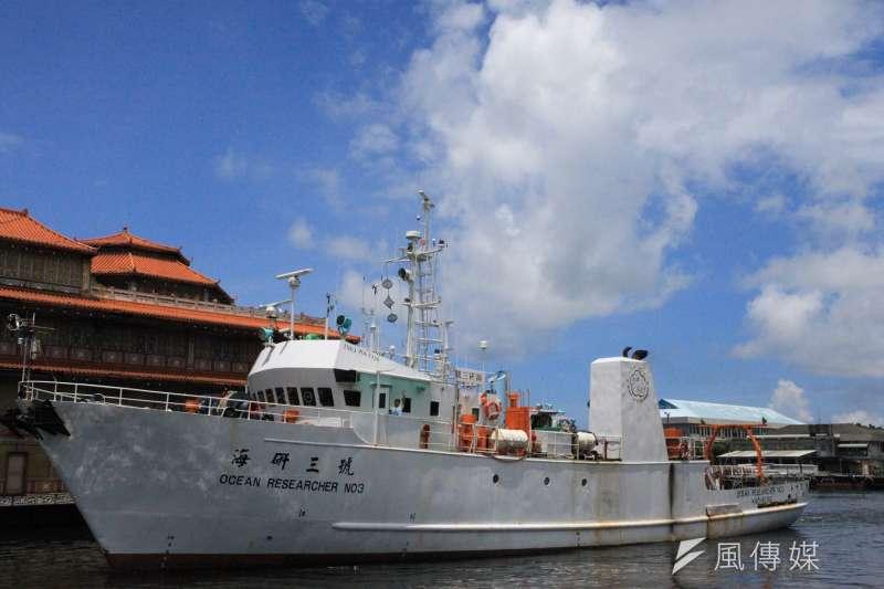 台灣目前服役中的海研船都已屆服役年齡,科技部正籌建新海研船。圖為海研3號。(資料照,取自中山大學網站)