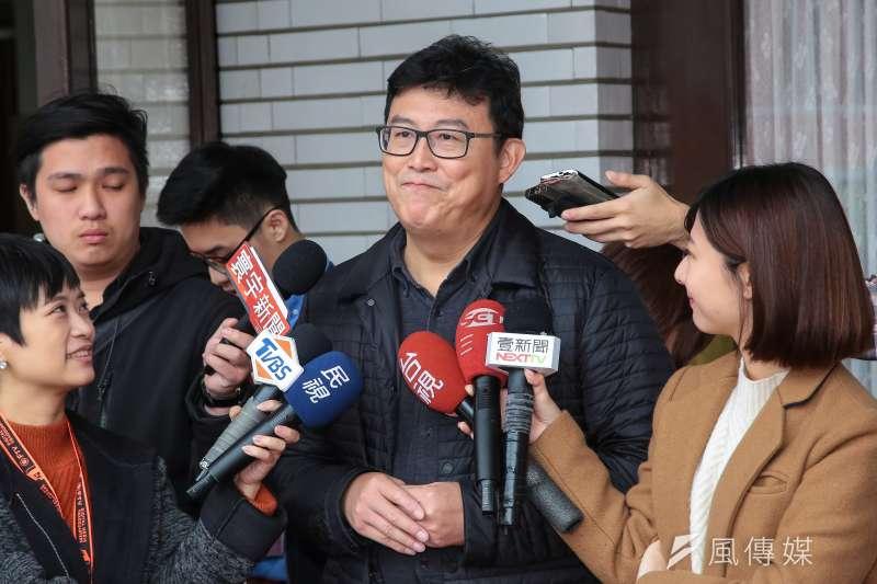 20180126-民進黨立委姚文智26日於立院接受媒體聯訪。(顏麟宇攝)