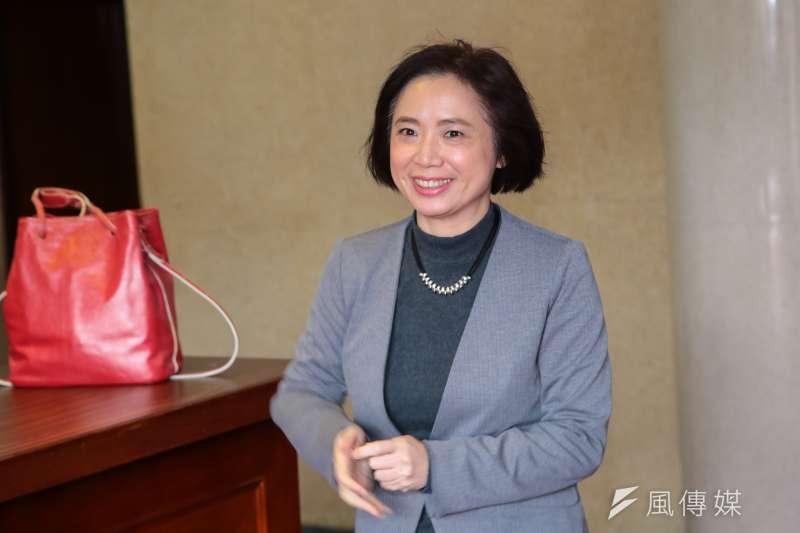 民進黨幹事長則確定由上會期書記長何欣純轉任。(資料照,顏麟宇攝)