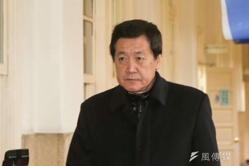 國民黨立委費鴻泰18日宣布,「願當黨團做工的人」,將全力爭取黨團總召。(資料照,陳明仁攝)