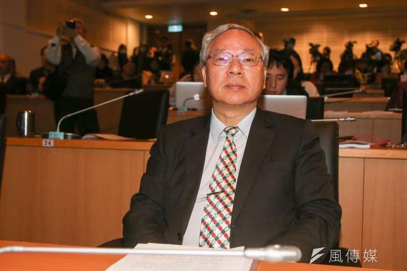 政次范植谷,20180130-交通部局處首長。(陳明仁攝)