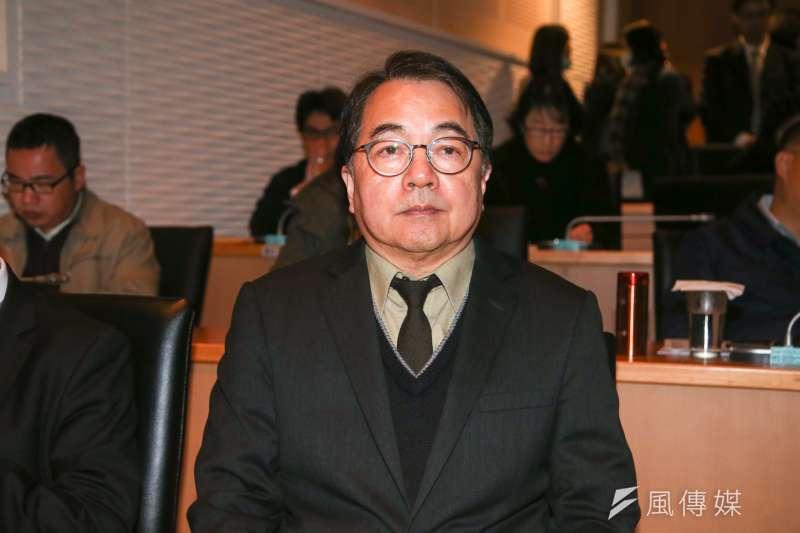 航港局長謝謂君,20180130-交通部局處首長。(陳明仁攝)