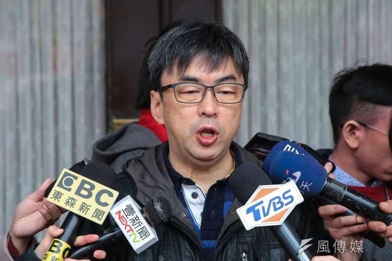 民進黨立委段宜康。(資料照片,顏麟宇攝)