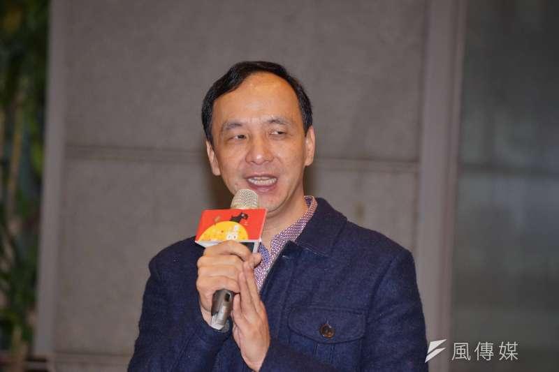 新北市長朱立倫表示,不反對核二廠2號機的重啟。(資料照,盧逸峰攝)