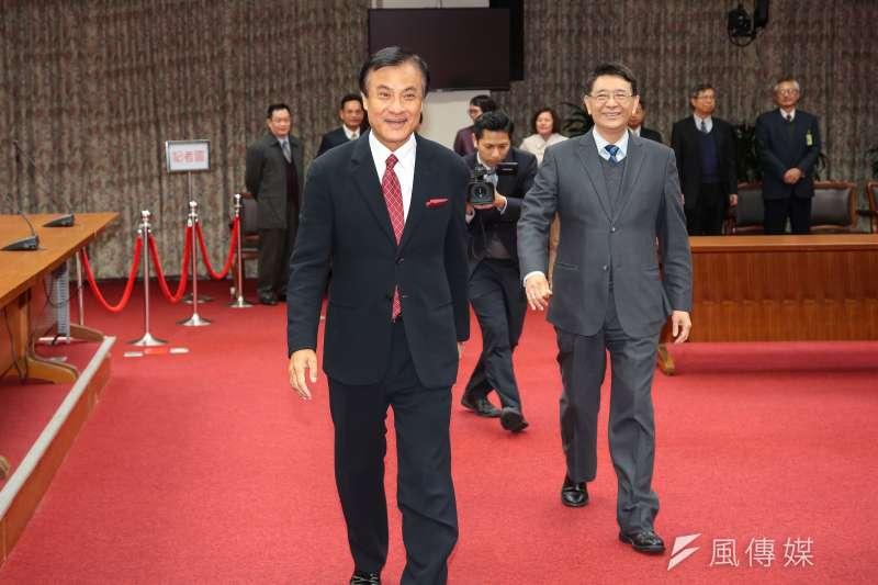 初六開工日,立法院長蘇嘉全談新春願望。(資料照片,顏麟宇攝)