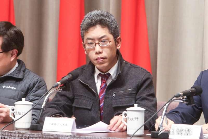 針對香港當局以台灣爲理由,暫緩「逃犯條例」立法,總統府發言人丁允恭晚間表示,這是不負責任與缺乏道德感的作法。(資料照,陳明仁攝)
