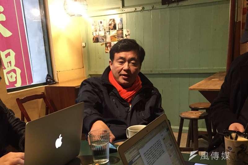 民進黨秘書長洪耀福3日則表示,台灣社會反改革的保守力量還是很強大,國民黨基礎並未因為2016敗選而潰敗。(顏振凱攝)