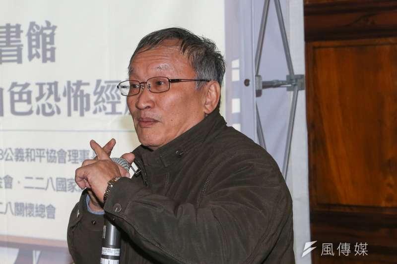 二二八紀念館館長楊振隆。(陳明仁攝)
